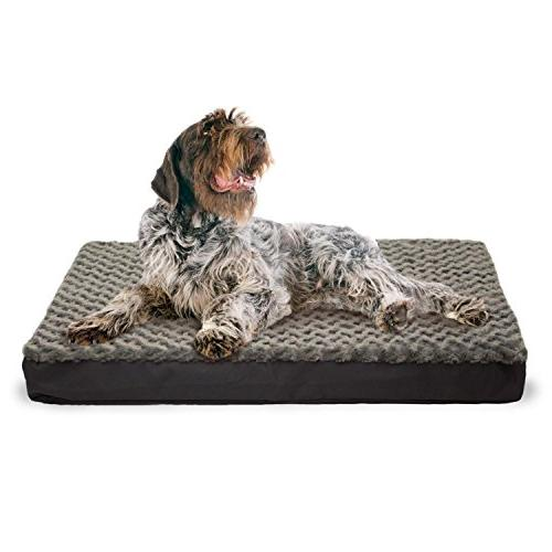 1 Medium Inches Plush Comfort Bed, Ortho Bedding Cooling Gel Removable Cover, Durable Polyester