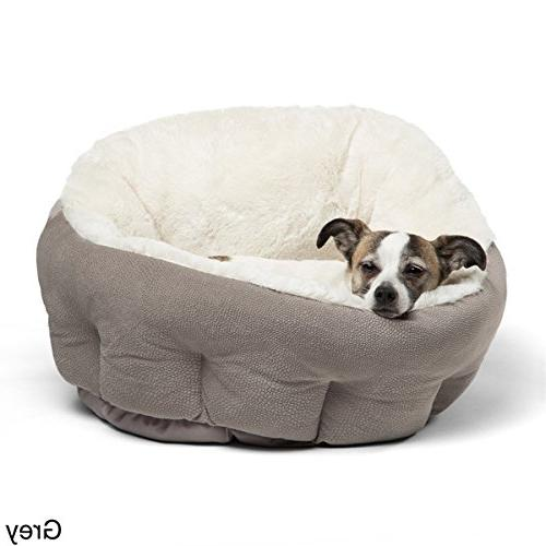 1 20 inches Pattern Comfort Dish Pet Bed Doggy Superbly Proof Soft Cozy Luxurious Easy