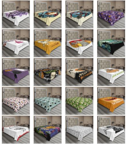 Ambesonne Party Flat Sheet Top Sheet Bedding