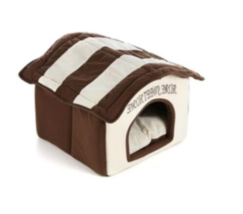 Home Sweet Soft Dog Dome Bed Washable Pet