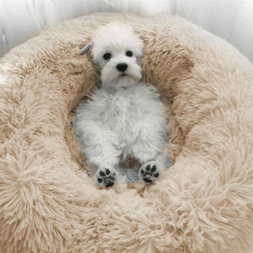 Self Warm Comfortable Plush Pet Bed for Cat Small Medium Dog