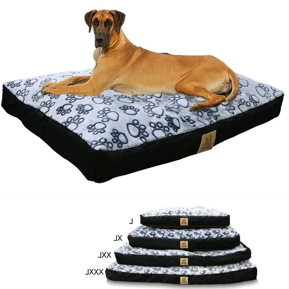 jumbo orthopedic pet dog bed dog xxl