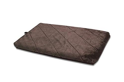kennel pad orthopedic faux fur