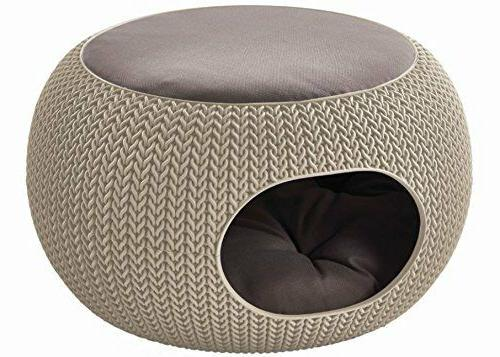 knit resin luxury lounge dome