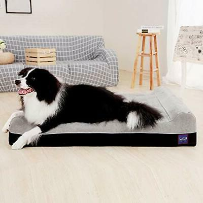 Laifug Orthopedic Extra Large Dog with and Durable Water
