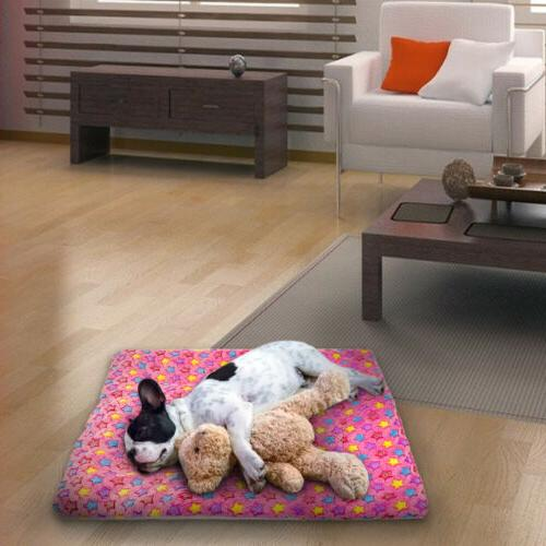 Large Bed Warm Plush Mat S-XL
