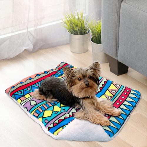 Large Dog Warm Cushion Mat for Kennel S-XL