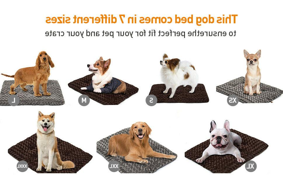 Large Bed Pad Cushions Soft Lounger Anti Skid Washable Cat Mattress