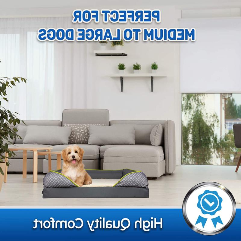 Pet Magasin Orthopedic Bed with Removable, Machine
