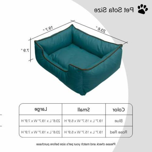 Large Pet Bed Removable Machine Proof