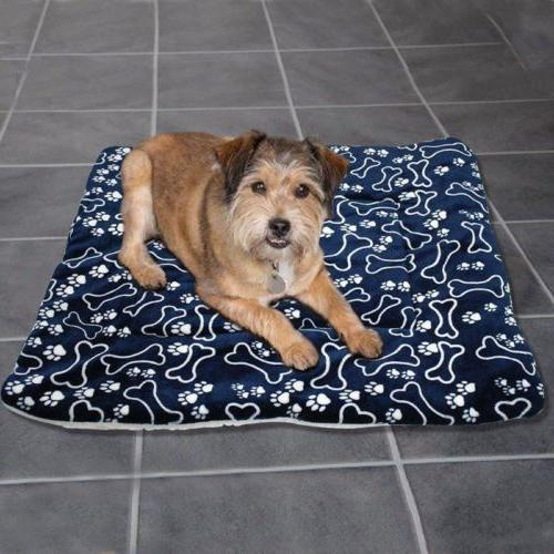 Large Cat Pet Mat Bed Pad Heating Rug Thermal Washable Pillow
