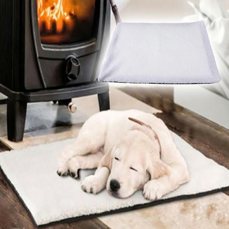 large warm self heating cat dog bed