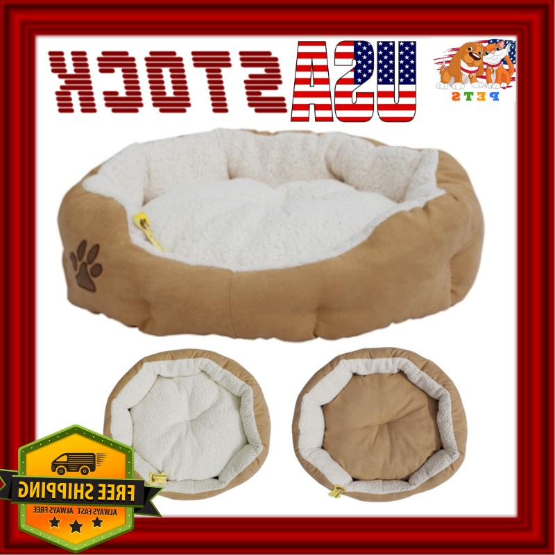 luxury dog bed pet cat sofa small