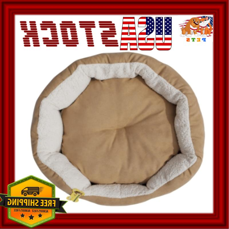 Cat Round Couch Washable Removable