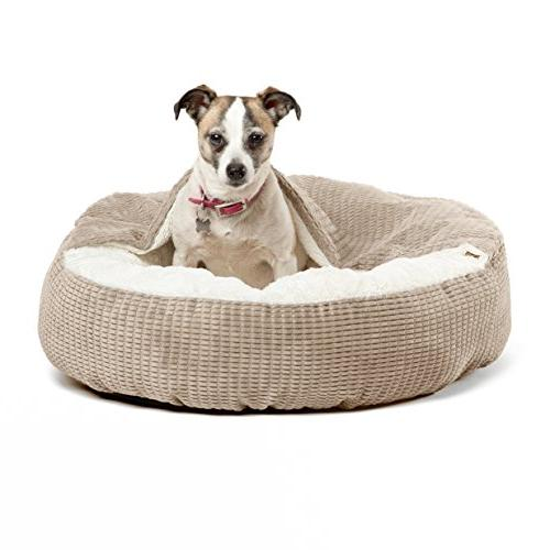 luxury dog cat bed