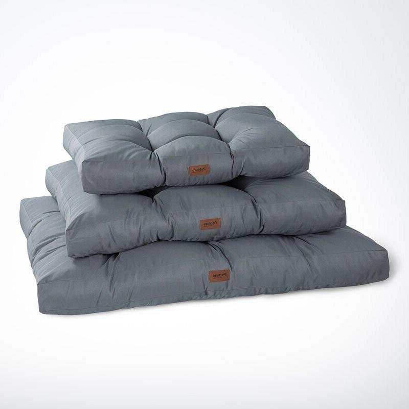 M/L/XL Large Dog Bed Waterproof Crate Pad Small Medium Large Dogs