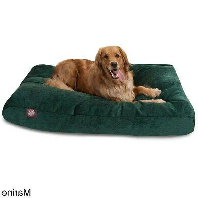 Majestic Pet Villa Collection Extra Dog Rectangle Bed with