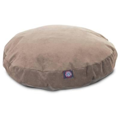 majestic pet grey villa collection round large