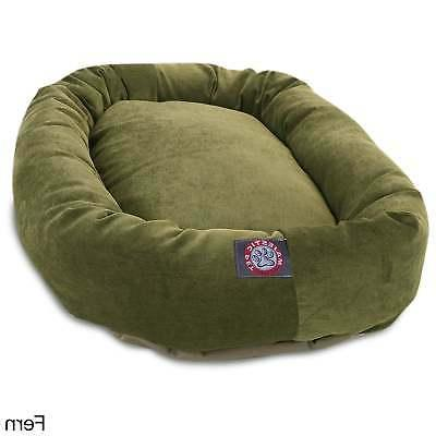 Majestic Collection Micro-velvet Large/Extra Dog Bed
