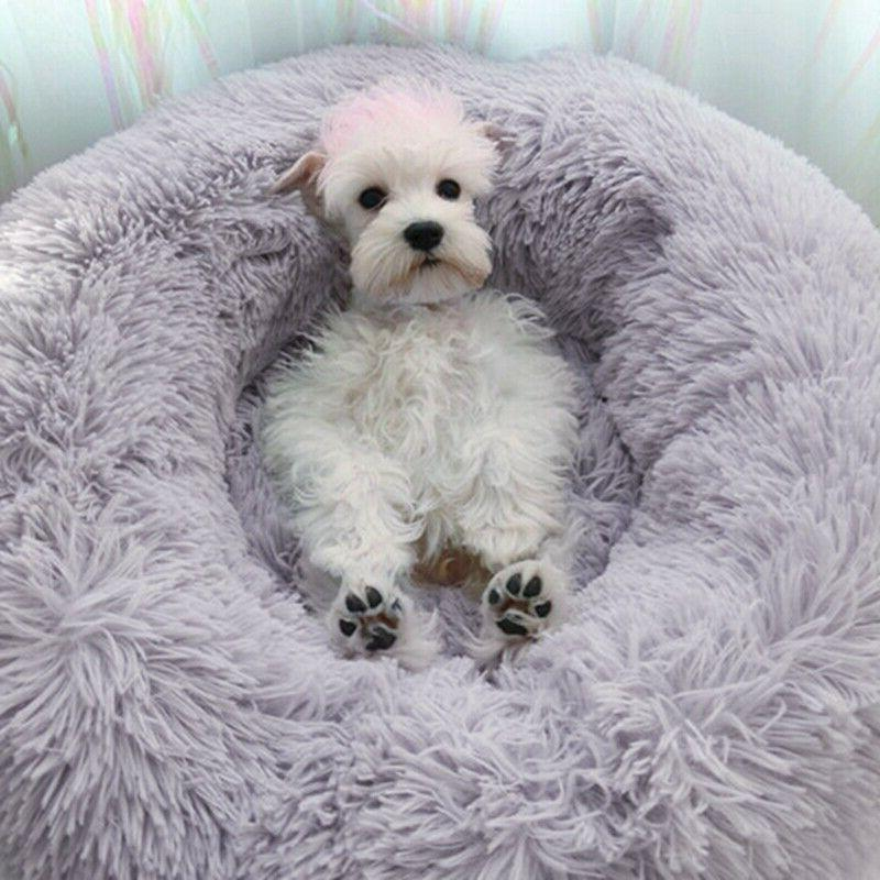 mat bed for dog cat pet round