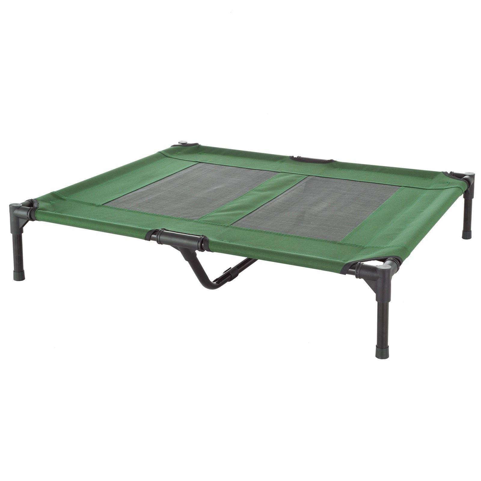 Med Dog Indoor Outdoor Elevated Cot and Case 36 x 29 In