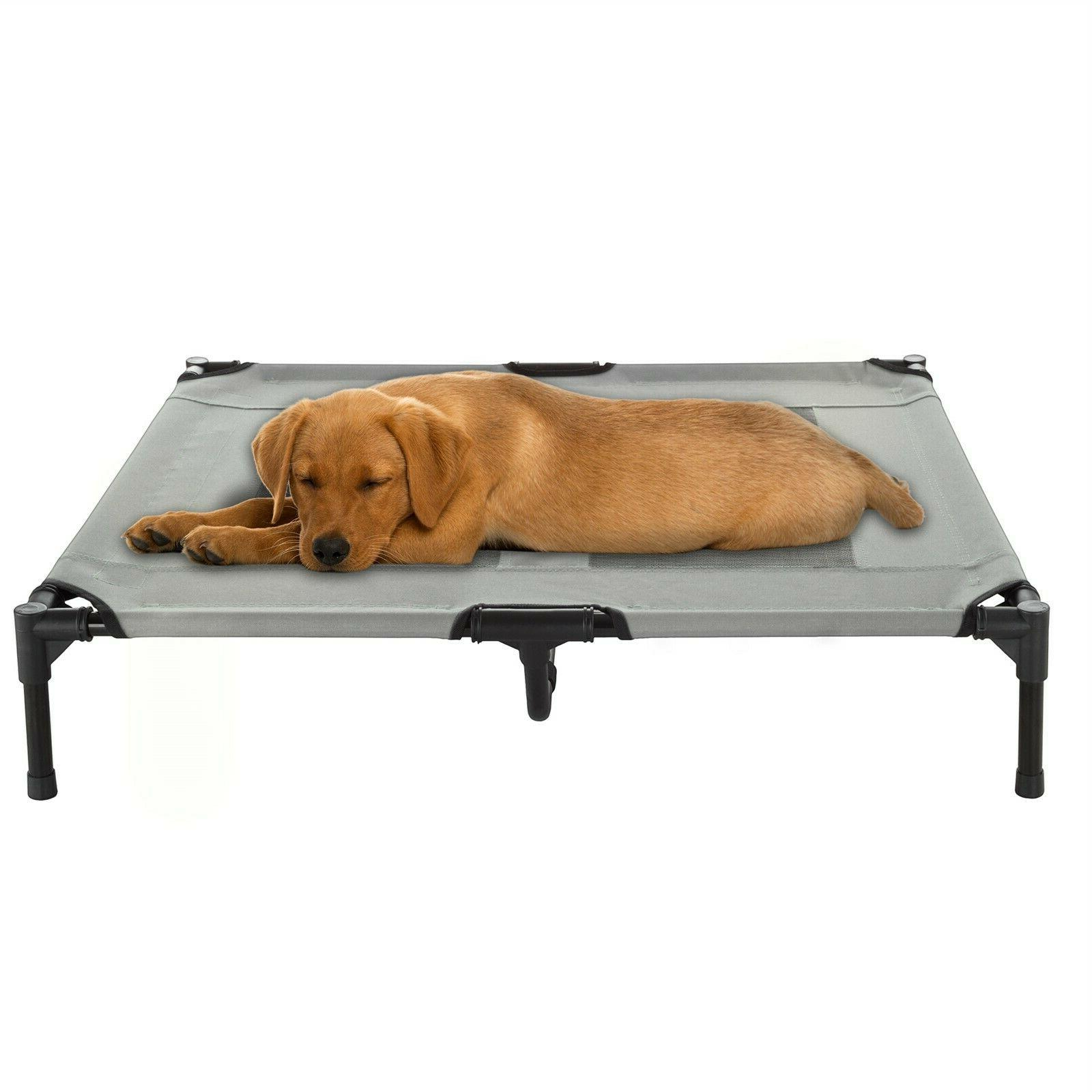 med large dog bed indoor outdoor raised