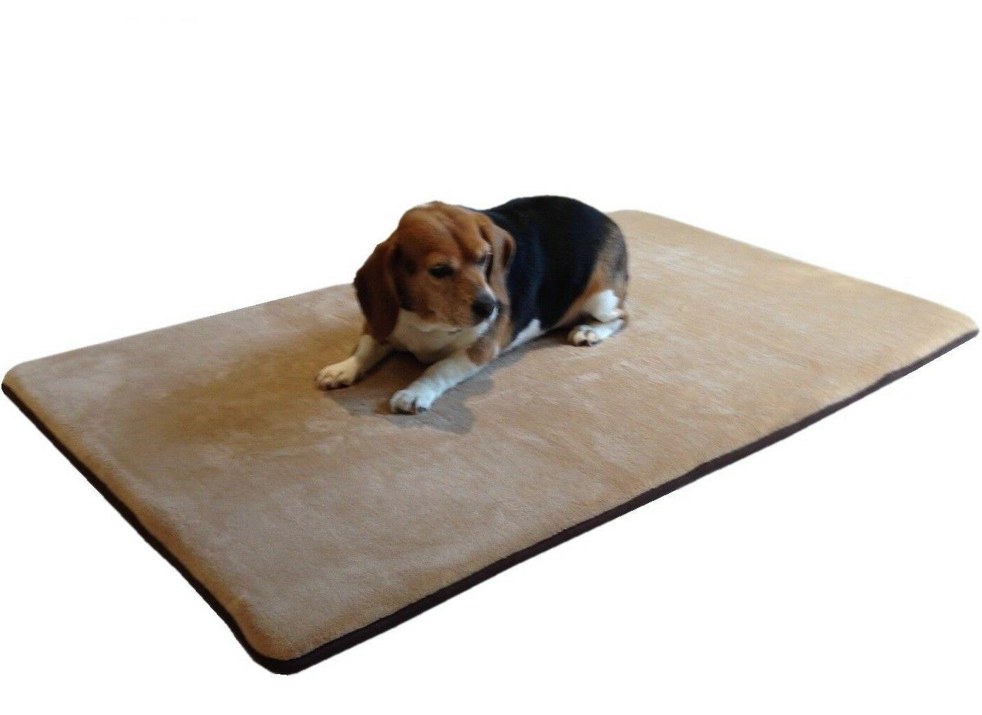 medium xl large waterproof memory foam pet