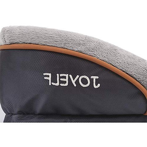 JOYELF Dog Bed Removable Washable Squeaker Toy as
