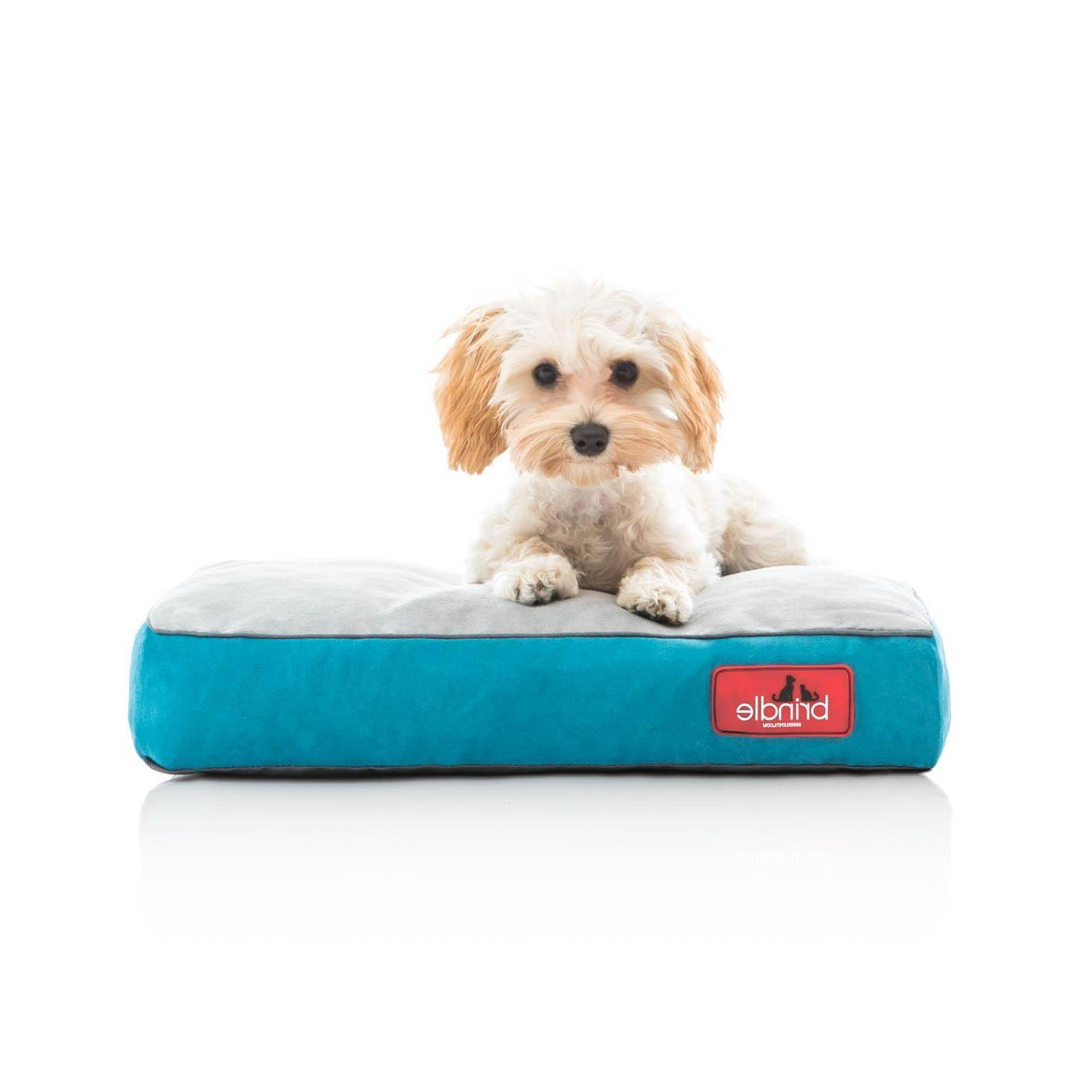 BRINDLE Memory Foam Bed with Cover Small