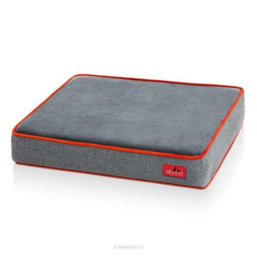 Memory Foam Bed Dogs Cover Durable Soft Fabric