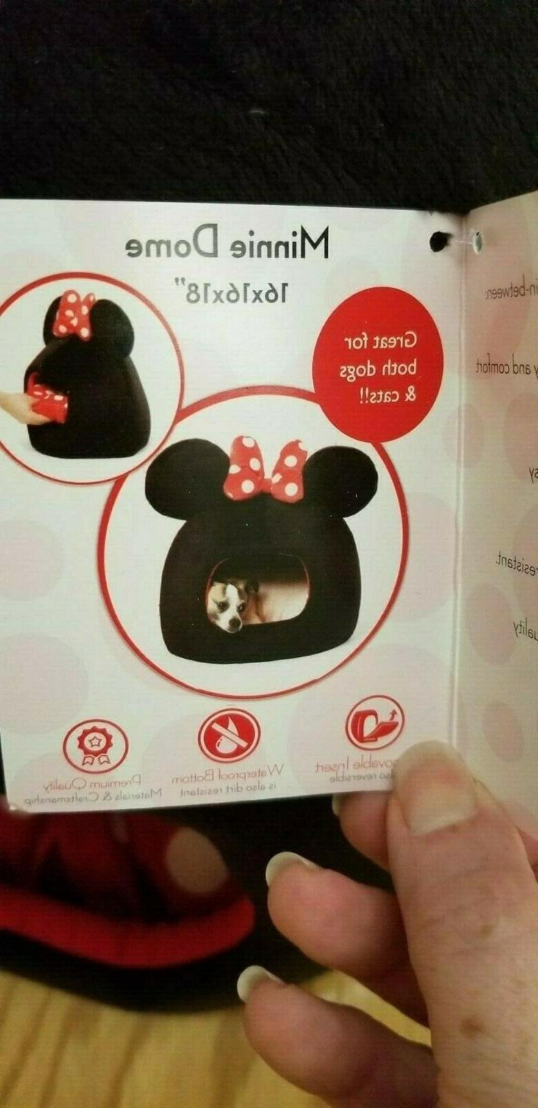Disney & Mouse Bed Black Dome