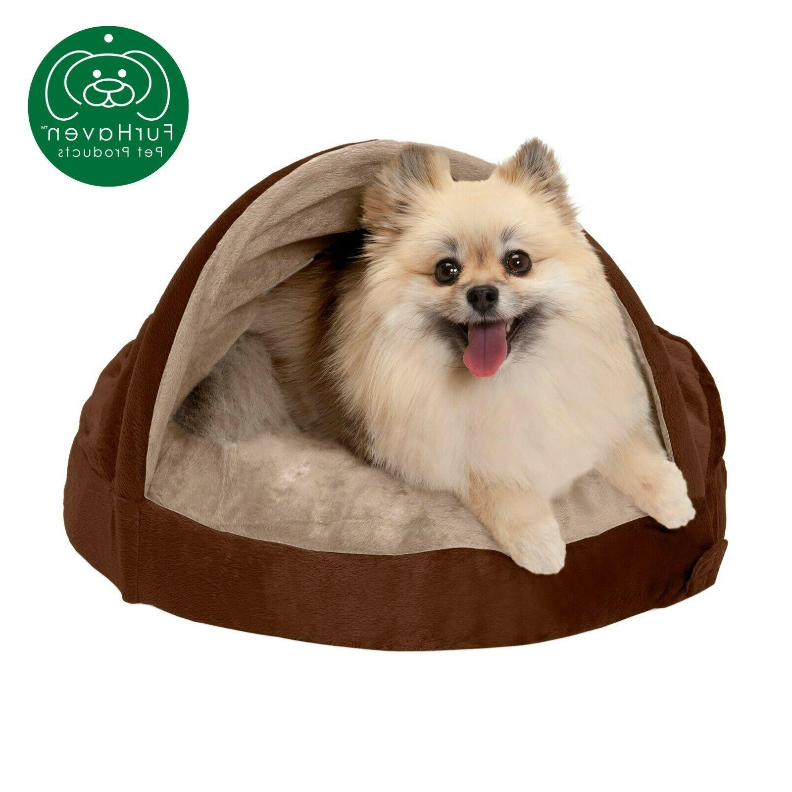 FurHaven Snuggery Cave Bed Bed