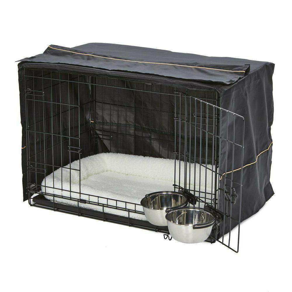 Midwest Homes for Dog Crate Starter Kit | Pet Bed,