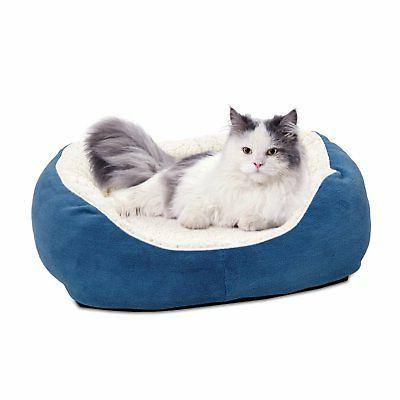 MidWest Homes Faux with Fleece Dog Bed