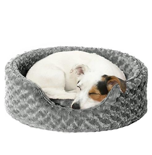 nap oval ultra plush bed