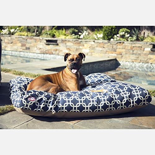 Navy Extra Large Rectangle Pet Dog Removable Cover