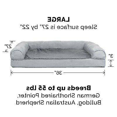 New Large & Pet Bed and Gray