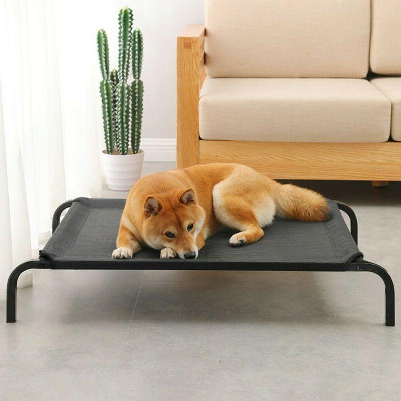 new large dog cat bed elevated pet
