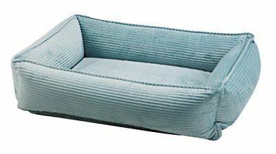 new urban lounger dog bed small blue