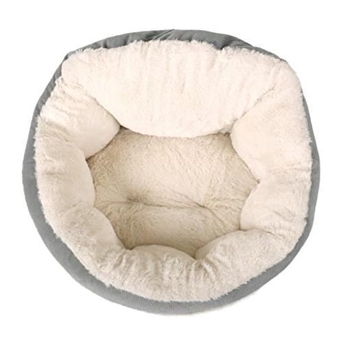 Best OrthoComfort Deep Cuddler - Self-Warming Dog Bed Cushion Joint-Relief and Improved - Machine Bottom - Up to