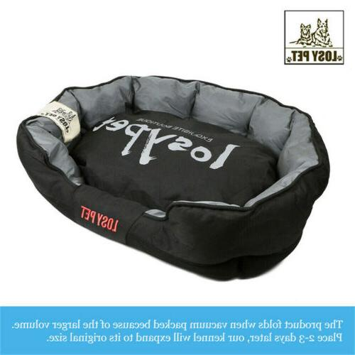 Orthopedic Comfy Dog Bed Kennel Extra Large