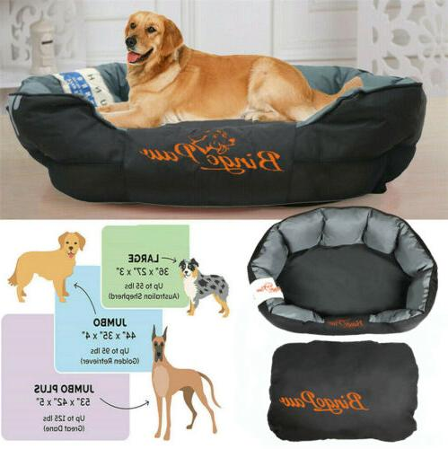 orthopedic comfy dog pet bed kennel
