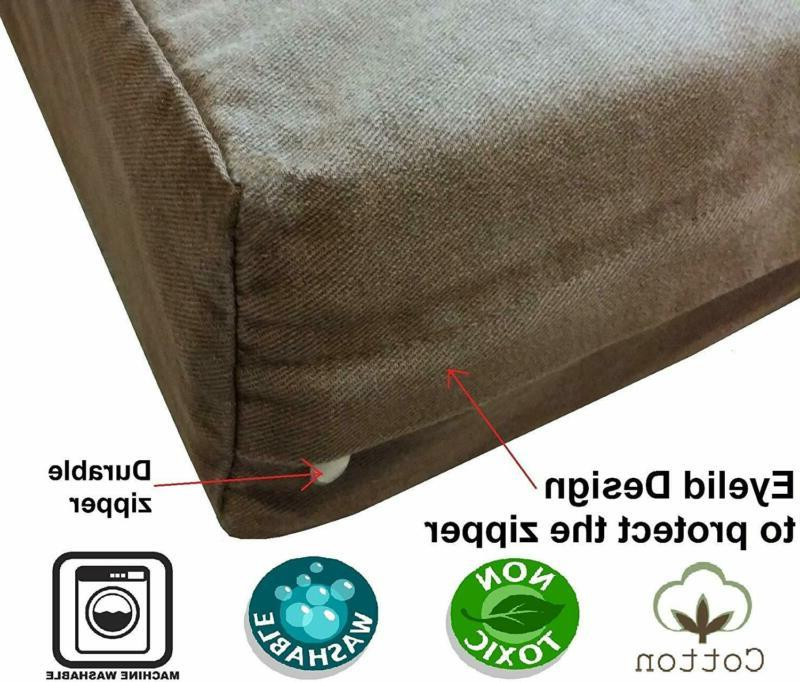 Dogbed4Less Foam Dog Bed Small, Large