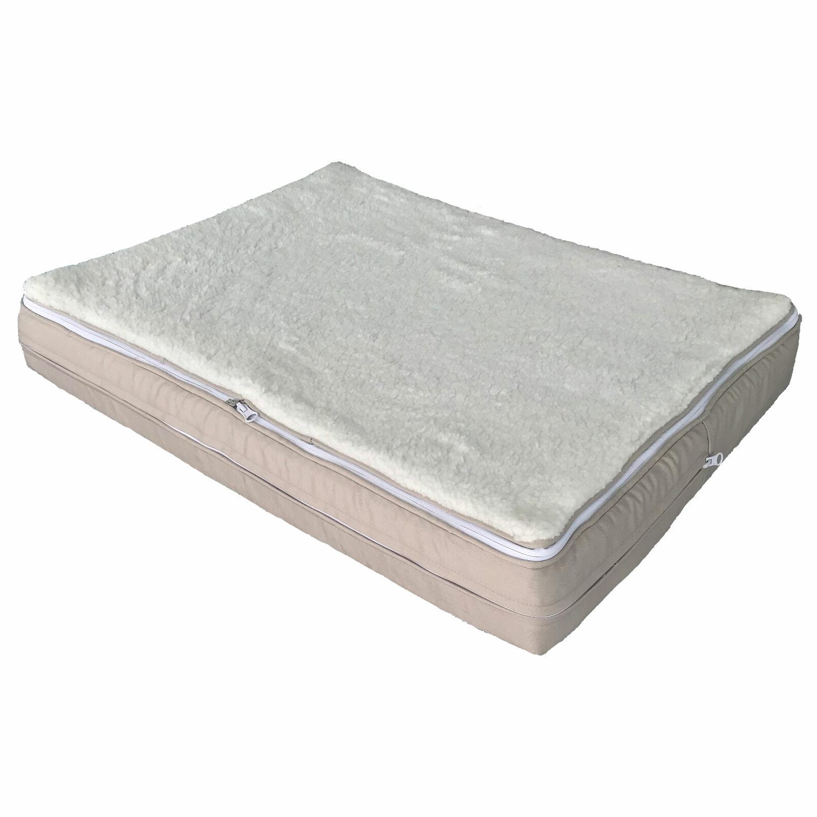 Luxury Memory Foam Bed Infused Large Small Soft Washable