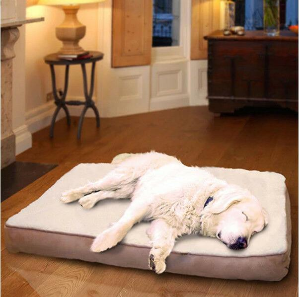Extra Large Orthopedic Dog Bed Machine Washable Removable Co