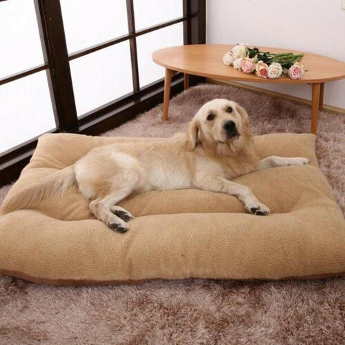 Orthopedic Bed Pet Lounger Deluxe Crate Foam - Large