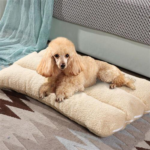 XL Orthopedic Pillow Plush Pet Lounger Foam