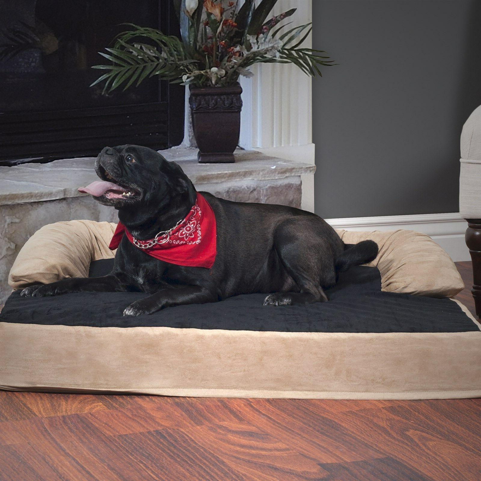 PAW Foam Joint Relief Bolster Bed 17 Inches