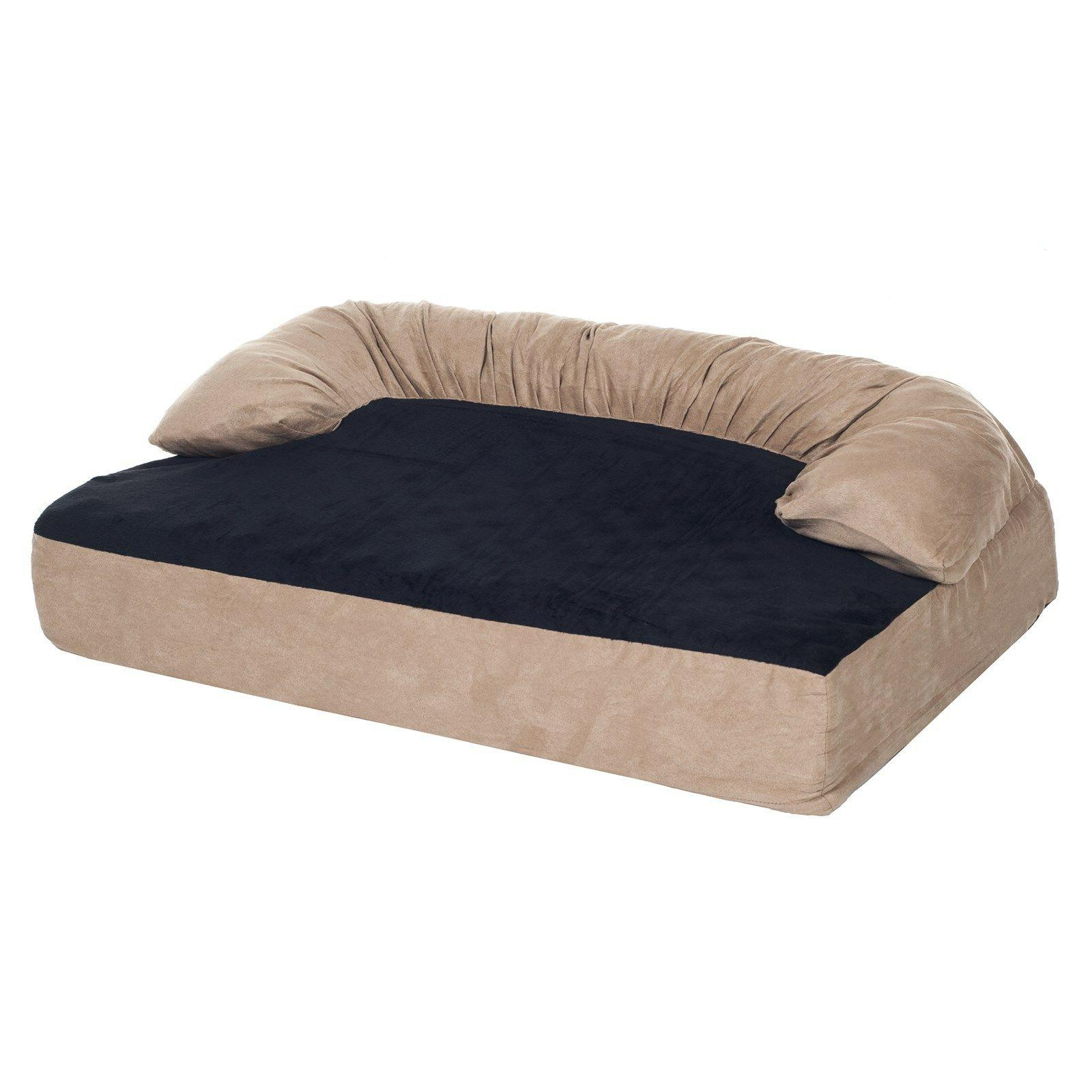 PAW Orthopedic Memory Foam Joint Relief Bolster Dog Bed 25 x