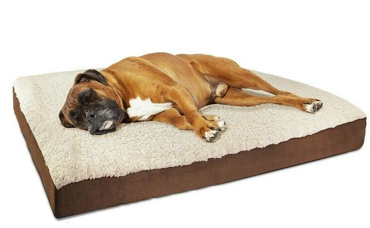 orthopedic pet bed cushion pad